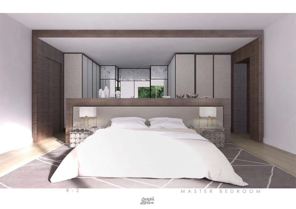 Agence Joseph Karam 3D R-2 Master chambre projet privé