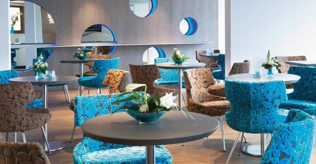 Agence Igloo architectures hôtel océania saint malo salle déjeuner