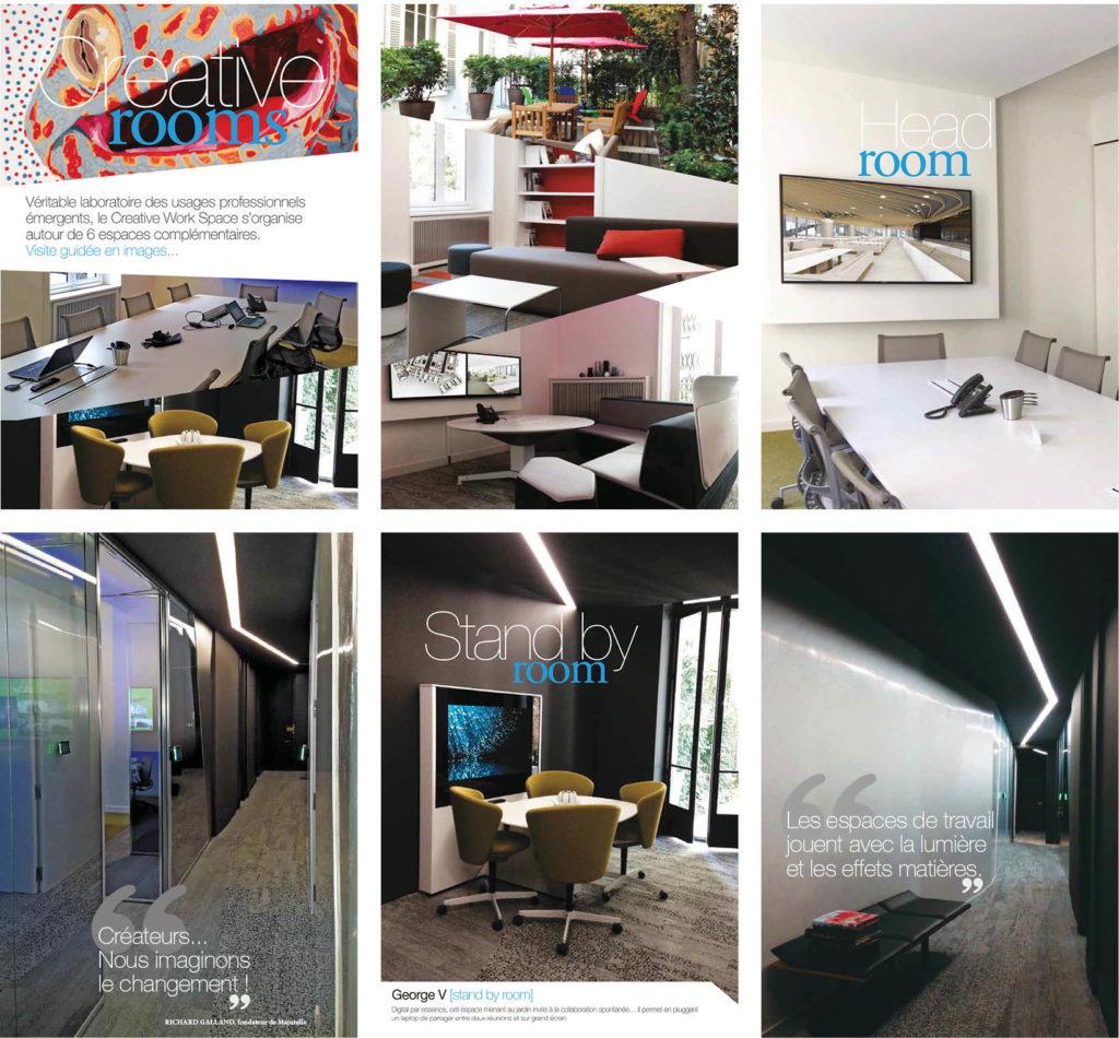 Agence majorelle plaquette creative workspace