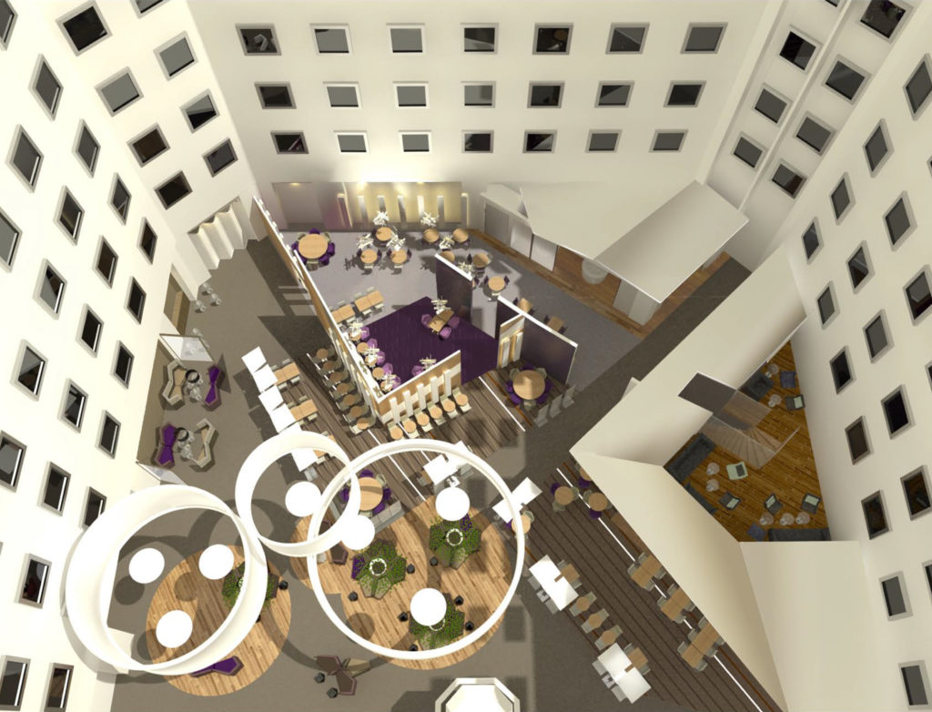 Agence design & visions 3D hôtel novotel sheremetyevo
