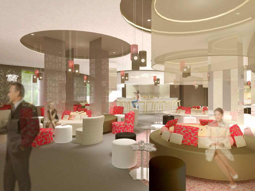 Agence design & visions 3D hôtel mercure lipetsk