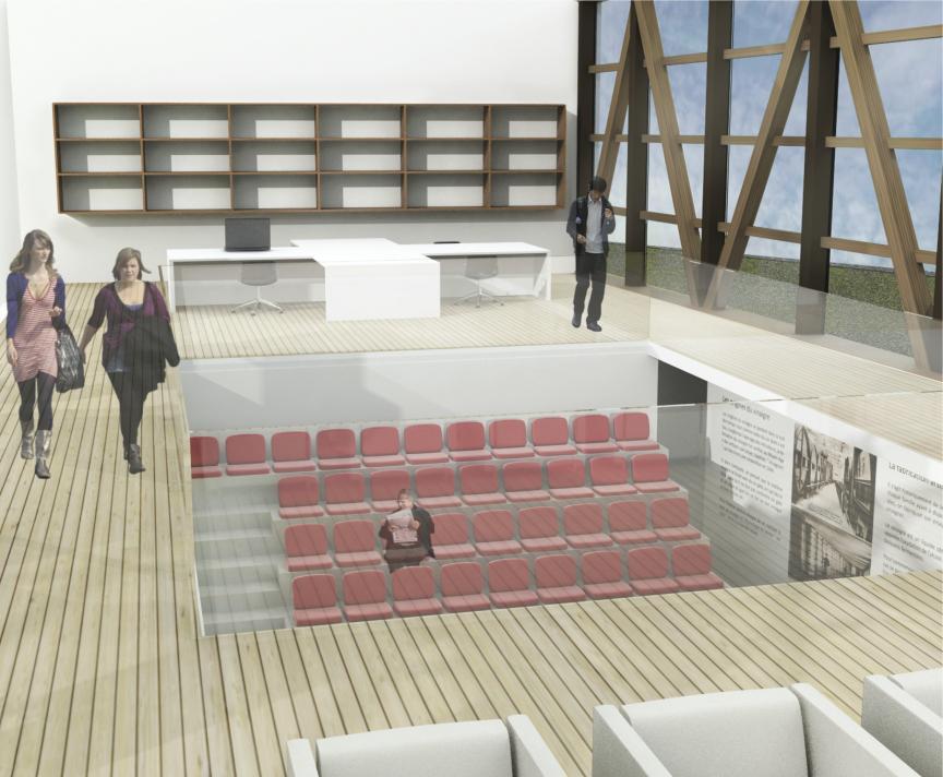 agence EDL 3D maison F.mitterrand musée